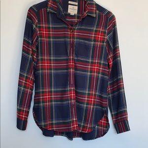 American Eagle soft plaid shirt - Small